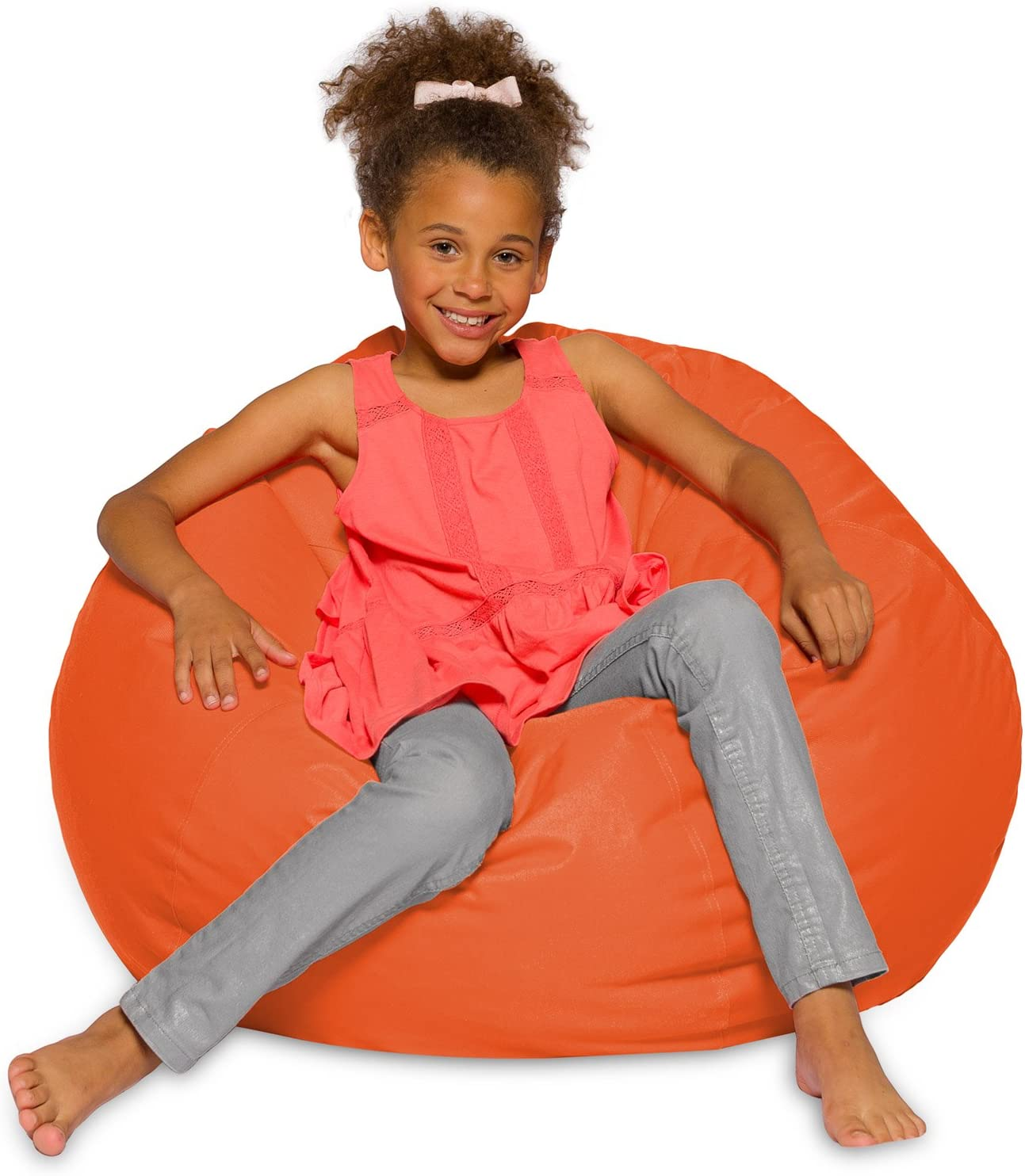 57 x 39.4 Indoor and Outdoor Chair XL = 145cm x 100cm Rectangular 15 Colours alibey Giant Bean Bag Anthracite For Children
