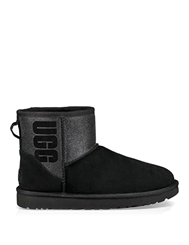 ugg mini leather noir