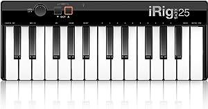IK Multimedia iRig Keys 25 25-key compact keyboard MIDI controller for Mac/PC