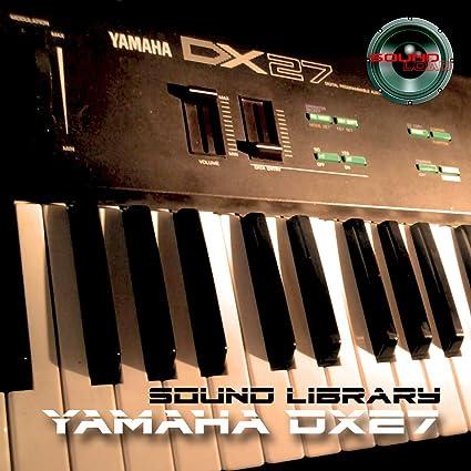 Amazon com: YAMAHA DX-27 Huge Sound Library & Editors on CD