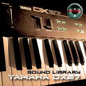 Yamaha DX-27 gran sonido Biblioteca y editores en CD: Amazon ...