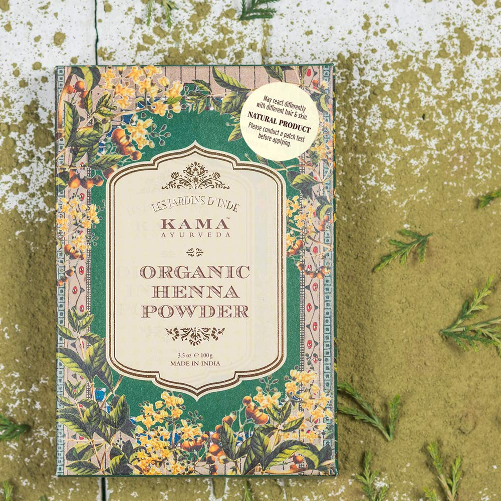 7dde212167f02 Kama Ayurveda 100% Organic Henna Powder, 100g: Amazon.in: Beauty