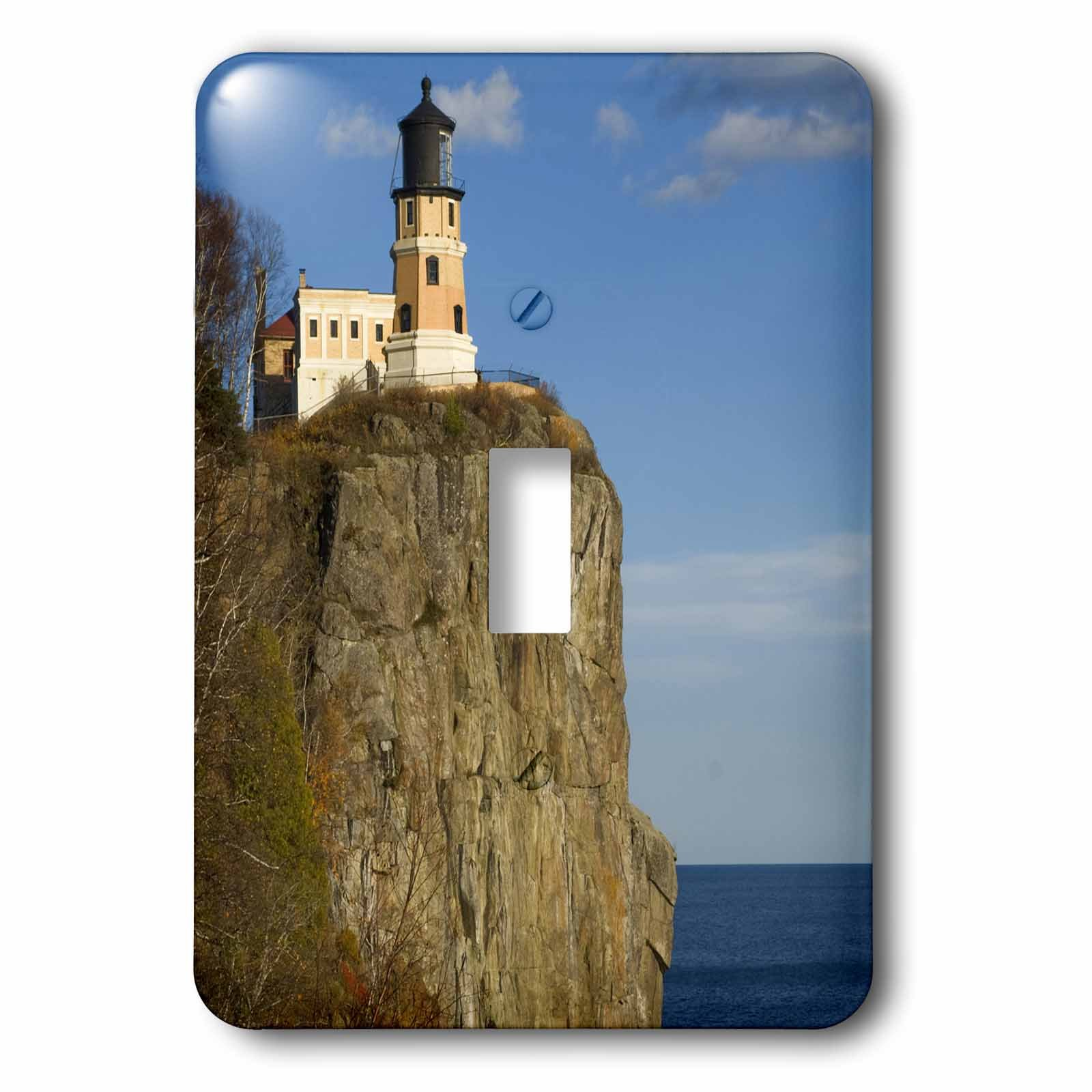 3dRose LLC lsp_91377_1 Usa, Minnesota, Split Rock Lighthouse, Lake Superior Us24 Dsv0005 David Svilar Single Toggle Switch