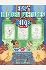Easy Hidden Pictures for Kids Ages 3-5: A First Preschool Puzzle Book of Object Recognition (Woo! Jr. Kids Activities Books) Paperback