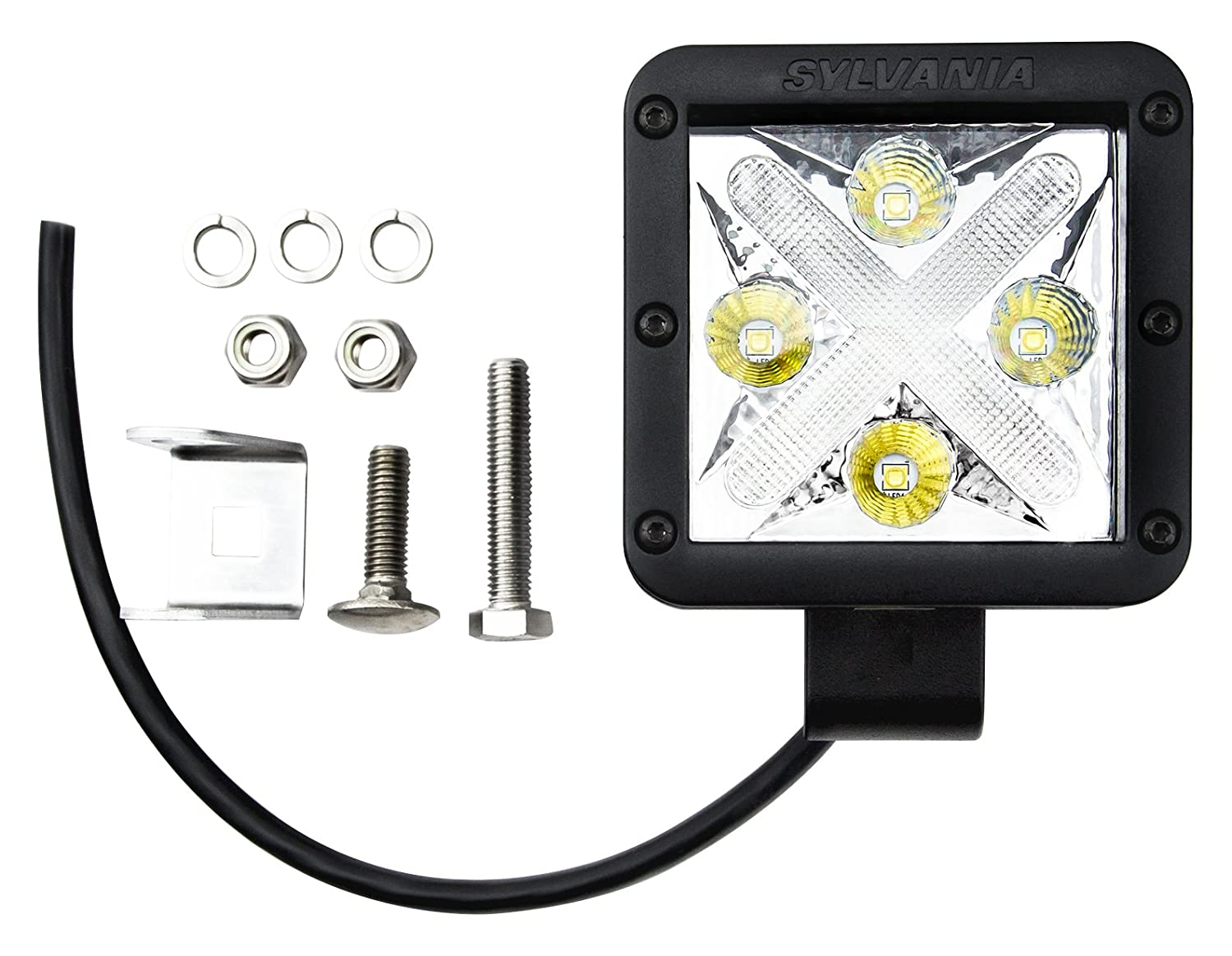 Amazon.com SYLVANIA LED CUBE-X Off-Road Spot Light (Contains 1 Light) Automotive  sc 1 st  Amazon.com & Amazon.com: SYLVANIA LED CUBE-X Off-Road Spot Light (Contains 1 ... azcodes.com