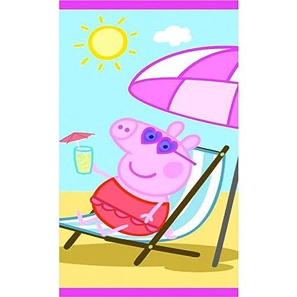 Peppa Pig Toalla De Playa De Sol Super Suave Grande