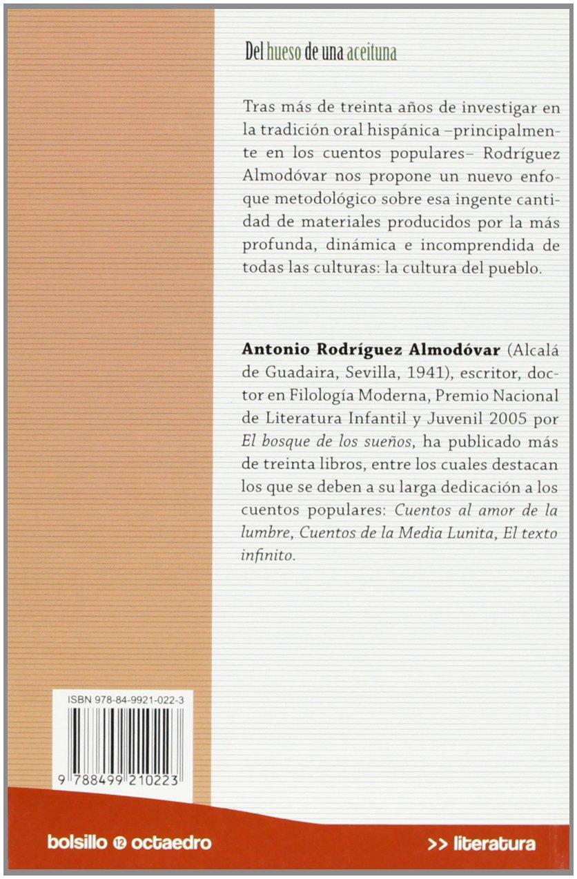 Del hueso de una aceituna: Ocatedro Ediciones: 9788499210223: Amazon.com: Books