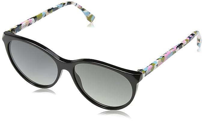Womens Ff 0170/S Vk Sunglasses, Bk, 57 Fendi