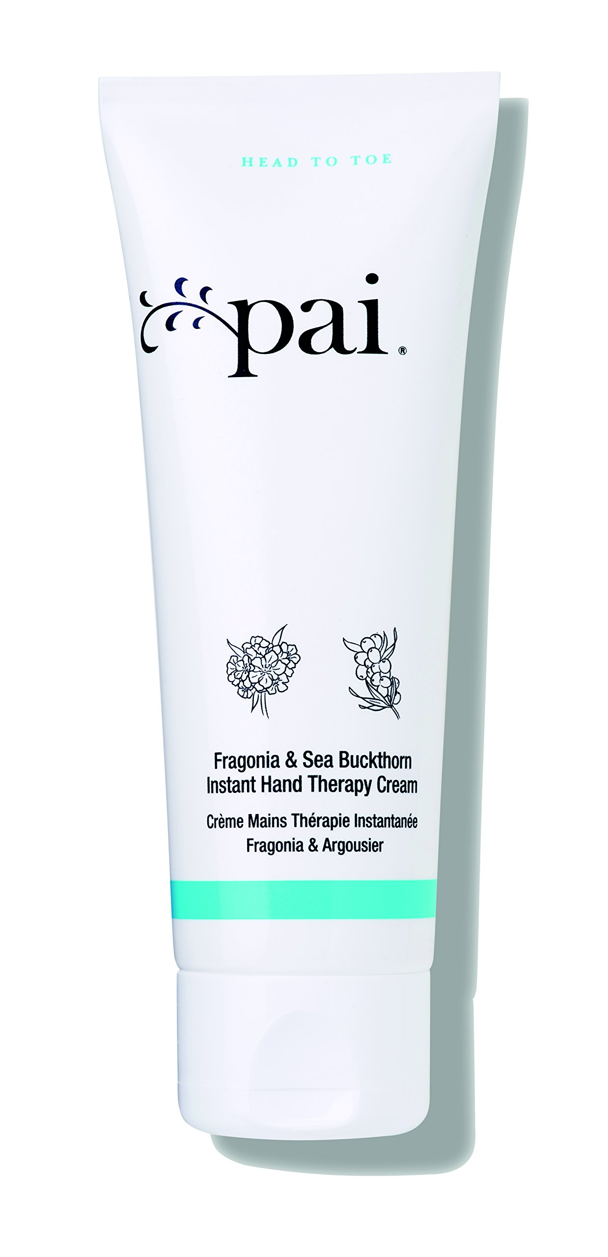 Pai Skincare Organic Fragonia & Sea Buckthorn Moisturizing Hand Cream with Pro Vitamin A & C - Omega 3, 6 & 7-75ml