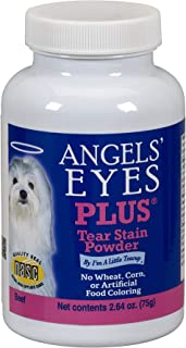 product image for Angels' Eyes PLUS Tear Stain Prevention Powder for Dogs - 75 gram - Beef Formula