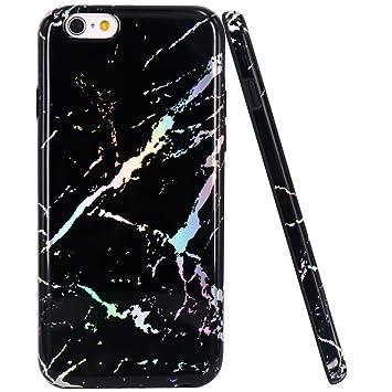 e37d3306381 JIAXIUFEN iPhone 6 Funda, Funda de Silicona Suave Case Cover Protección  Cáscara Soft Gel TPU Carcasa Funda para Apple iPhone 6 6S: Amazon.es:  Electrónica