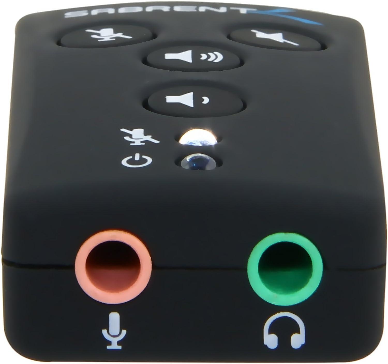 Amazon.com: Sabrent Caja de Sonido Externa usb-sbcv: Electronics