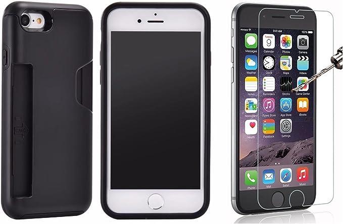 iPhone 7 carte de crédit logement Coque support Premium ...