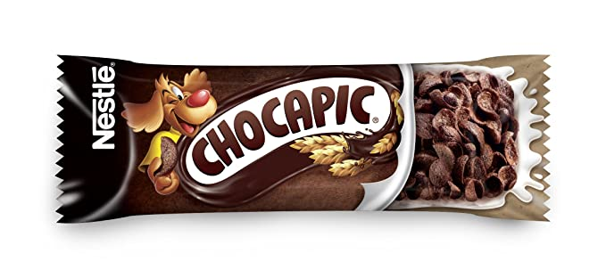 Nestlé Chocapic - Barritas de Cereales con Chocolate - 6 barritas de cereales (6x25g)
