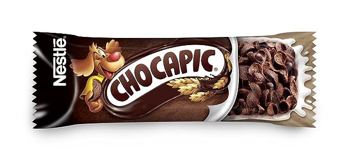 Nestlé Chocapic - Barritas de Cereales con Chocolate - 6 barritas de cereales (6x25g)