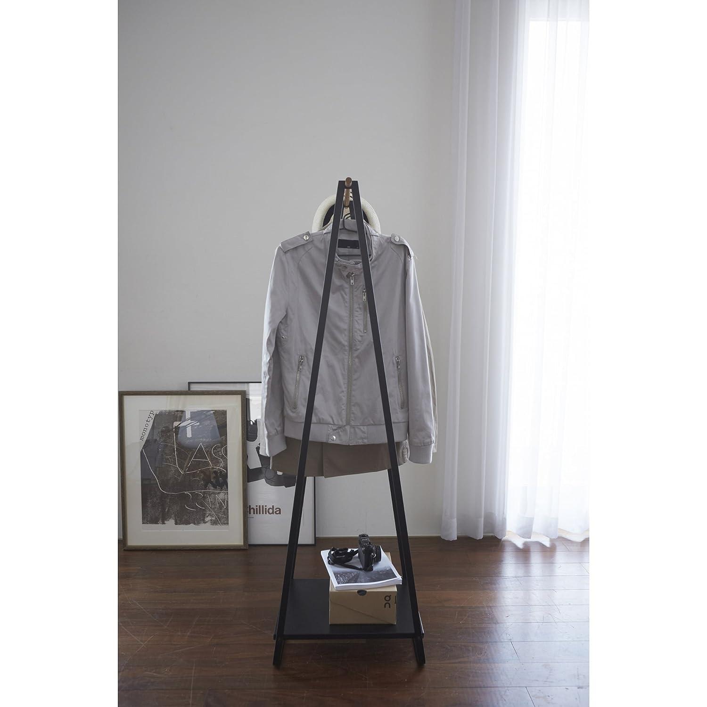 Yamazaki Slimline Clothes Railcoat Stand  Black Amazoncouk Kitchen &