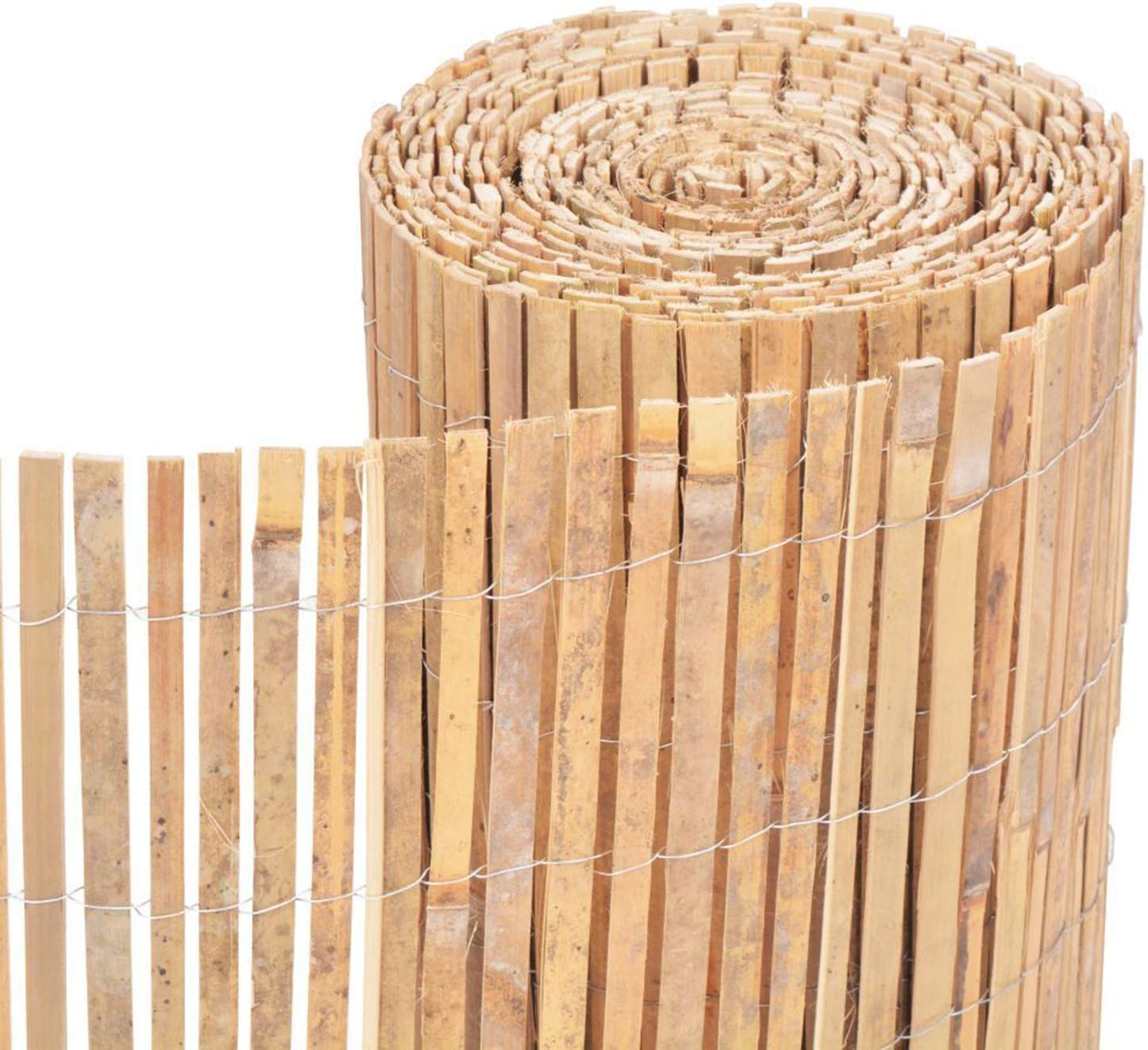 Homatz Valla de bambú con Listones – Rollo de protección de ...