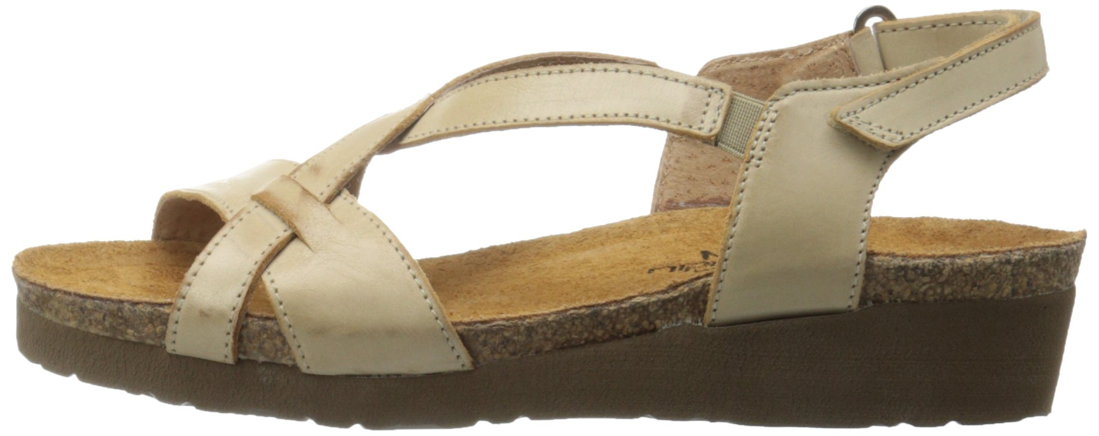 Naot Women's Bernice Wedge Sandal, Biscuit Leather, 35 EU/4.5-5 M US by NAOT (Image #5)