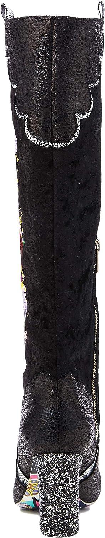 Irregular Choice Womens Petal Royal High Boots