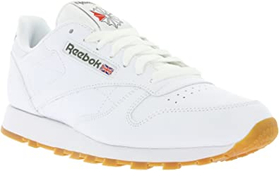 for whole family delicate colors cheap for sale Reebok Classic Leather, Baskets Homme: Amazon.fr: Chaussures et Sacs