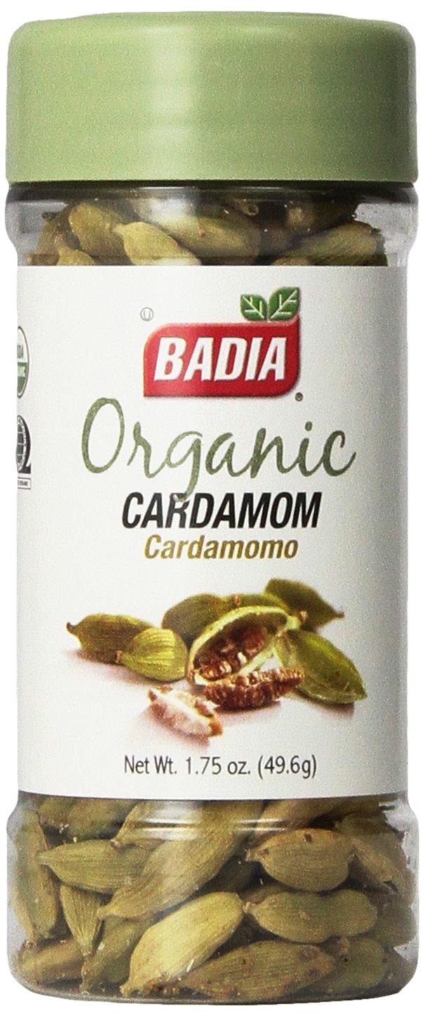 Badia Organic Cardamom, 1.75-Ounce