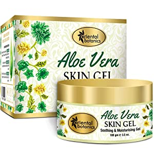 Oriental Botanics Aloe Vera Skin Gel With Almond & Wheatgerm Oil 100 Grams