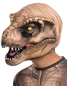 Jurassic World T-Rex Adult 3//4 Mask by Rubies