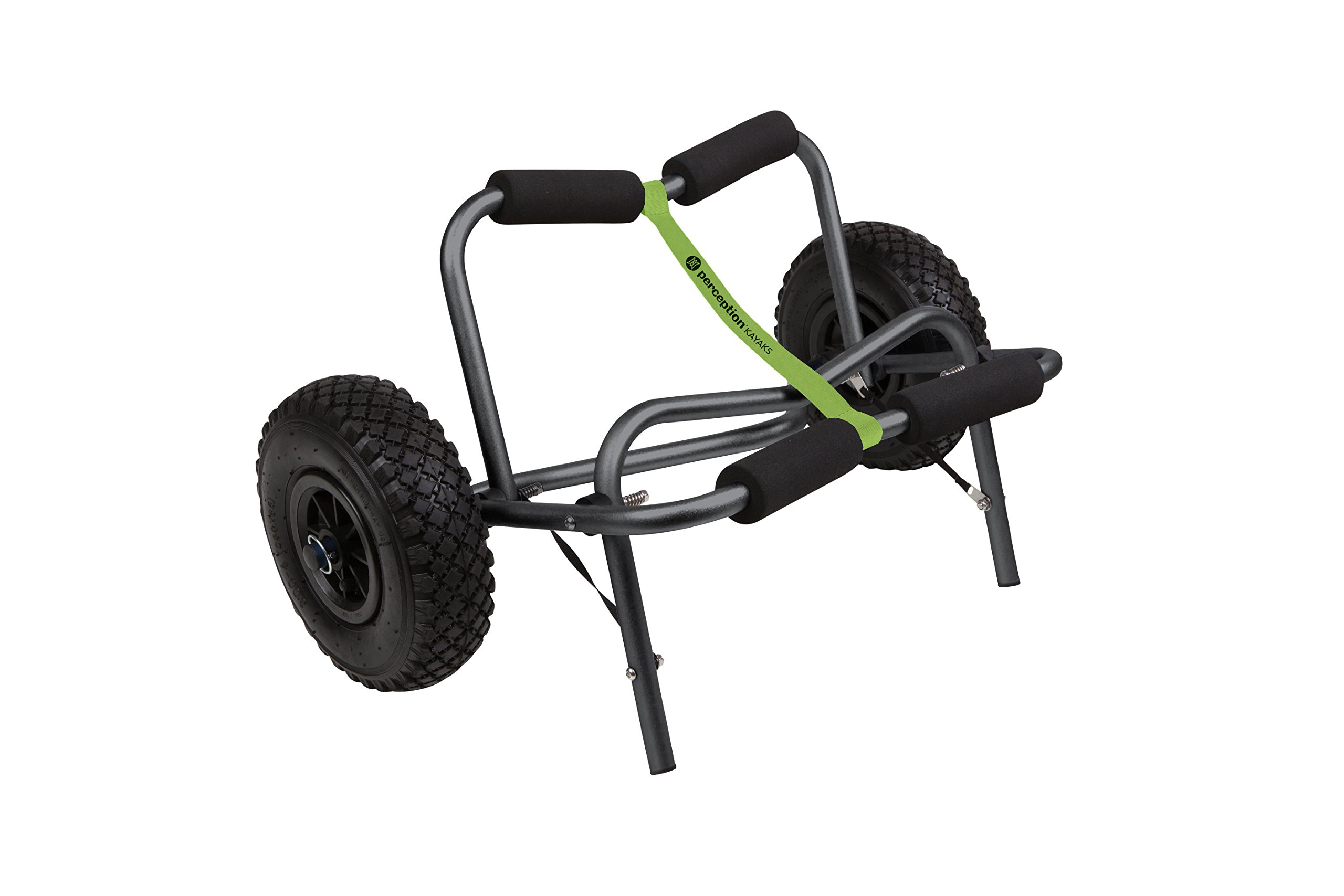 Perception Large Kayak Cart with Foam Wheels - for use on Sand/Pavement by Perception Kayaks