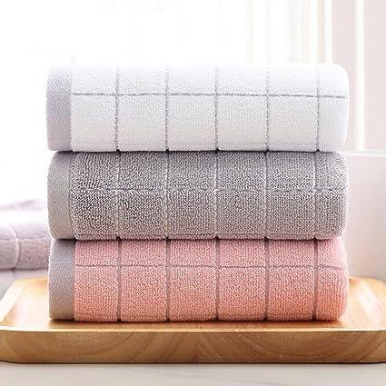 TOALLA Plaid toalla gruesa pareja toalla para adultos cara grande toalla absorbente suave toallas para uso