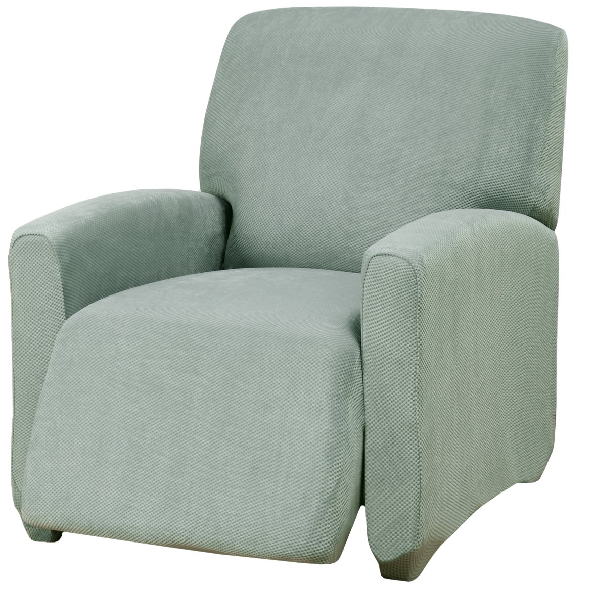 Madison Kathy Ireland Day Break Recliner Slipcover, Seaglass, Large by Madison