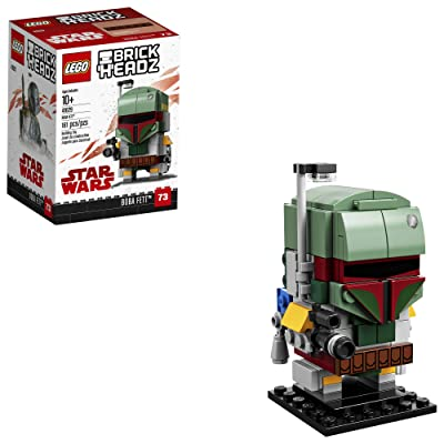 LEGO 6225354 Brickheadz Boba Fett 41629 Building Kit, Multicolor: Toys & Games