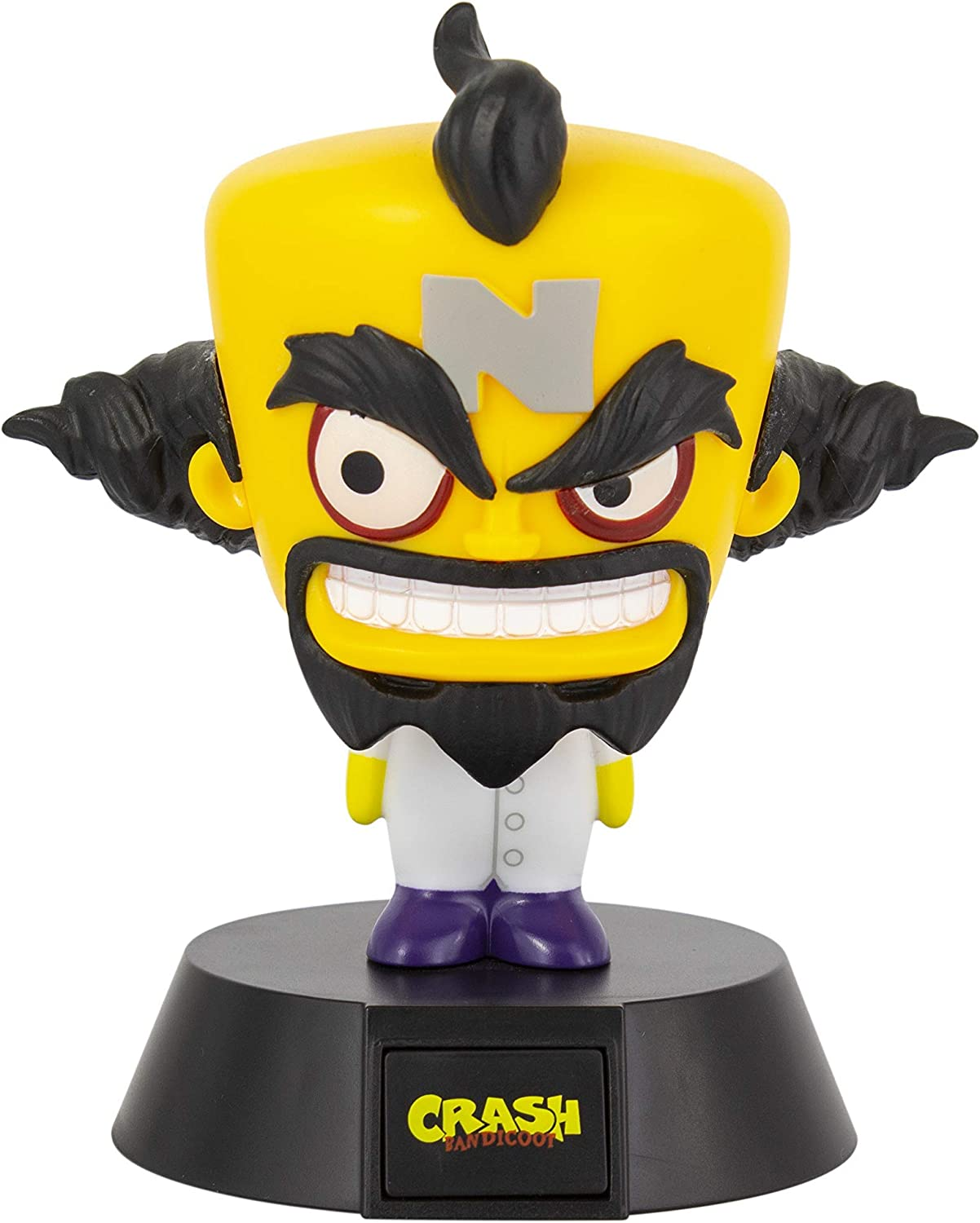 Office /& Home Paladone Mini Lamp Crash Bandicoot Doctor Neo Cortex Officially Licensed Collectable Pop Culture Gaming Merchandise Multi-Colour Ideal for Kids Bedrooms