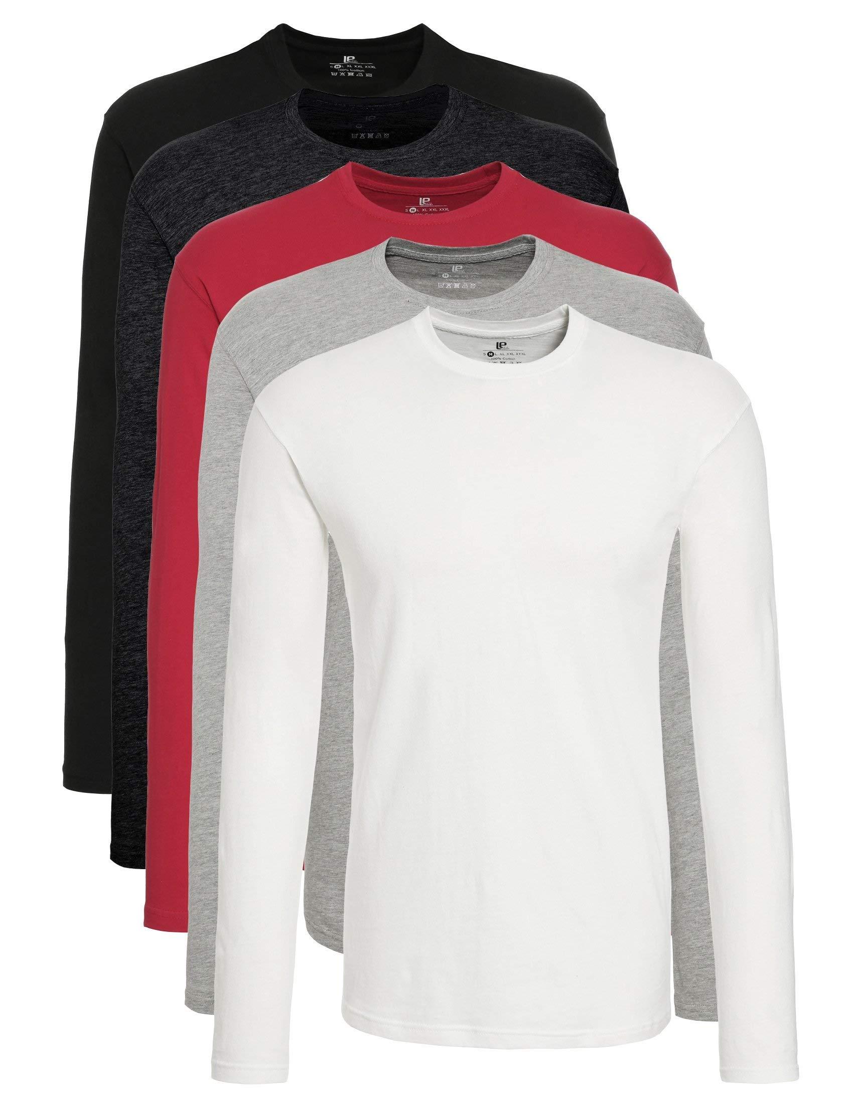 Lower East Camiseta de manga larga Hombre, Pack de 5 product image