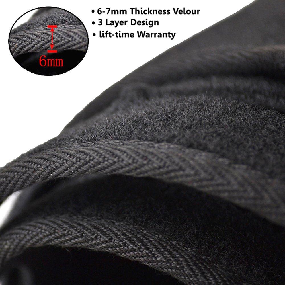 Custom Fit Dashboard Protector Big Ant Dashboard Cover for Dodge Ram 1500 2500 3500 2002-2005 Black Carpet Dash Cover Mat Reduces Glare Eliminates Cracking Easy Installation