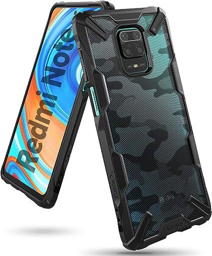 Amazon Com Ringke Fusion X Design Compatible With Redmi Note 9 Pro Case Redmi Note 9 Pro Max Case Redmi Note 9s Case Camouflage Design Back Shockproof Heavy Duty Bumper Cover Camo Black