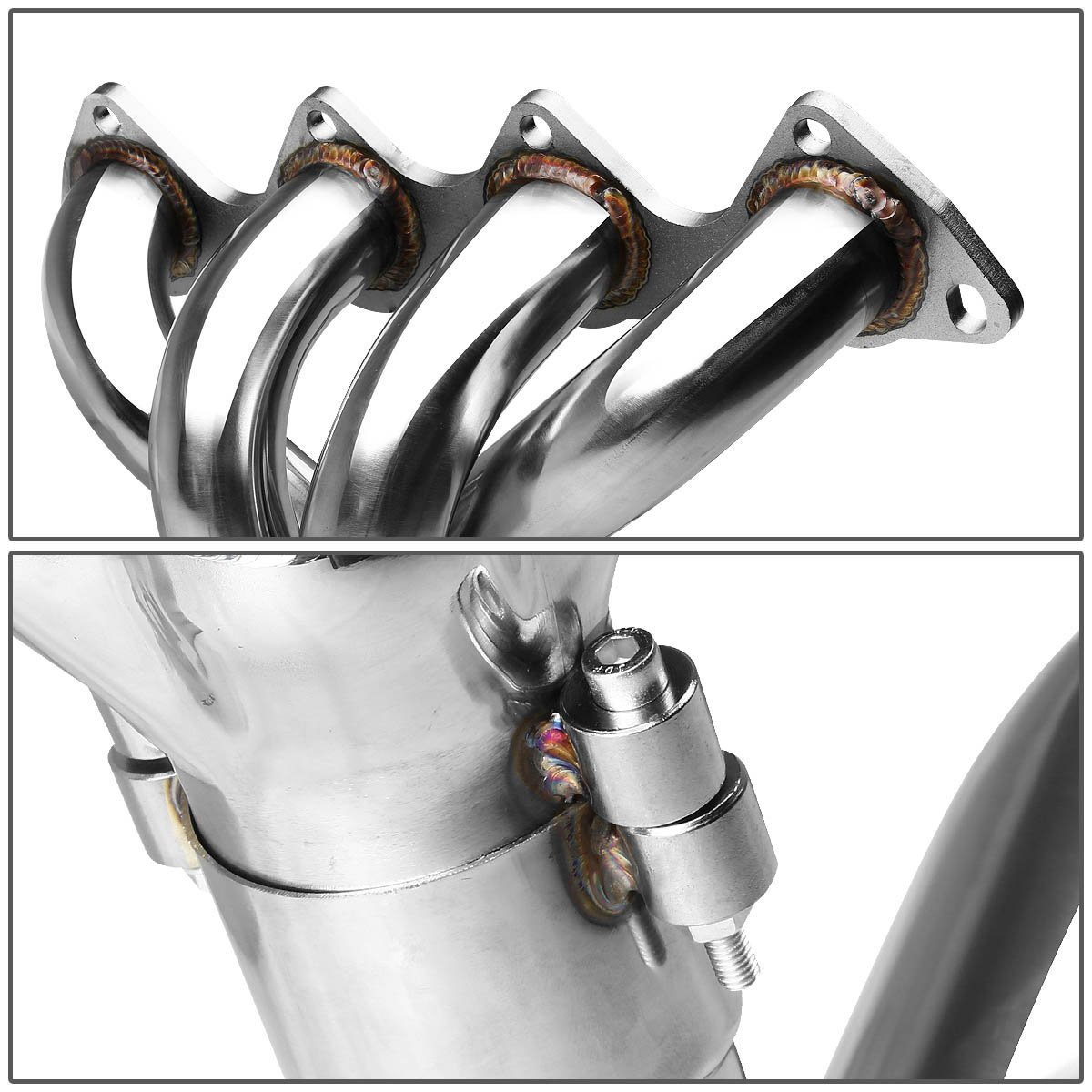 For Acura Integra DC4 Stainless Steel 4-1 Header//Exhaust Tubular Manifold