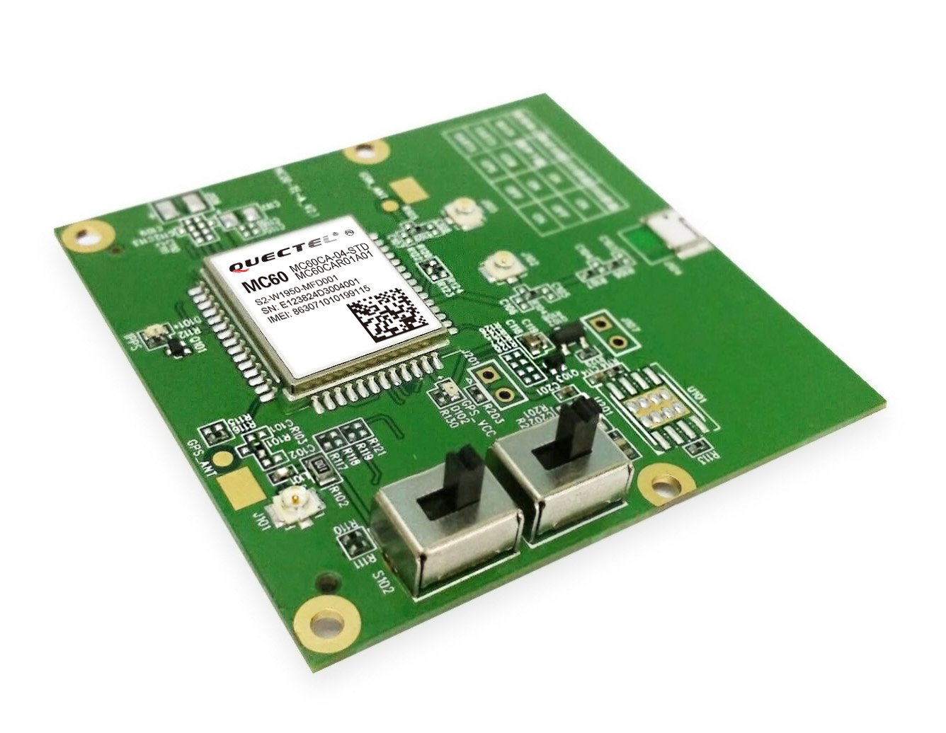 Quectel MC60 Testing Adapter Kit & Evaluation Board: Amazon