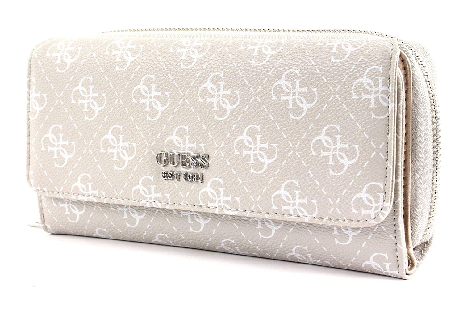 Guess Affair SLG Large Clutch Organizer Stone: