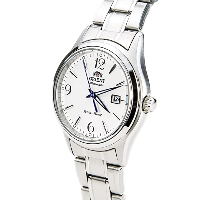 Amazon.com: Orient NR1Q005W Womens Charlene White Dial Stainless Steel Automatic Watch: Watches