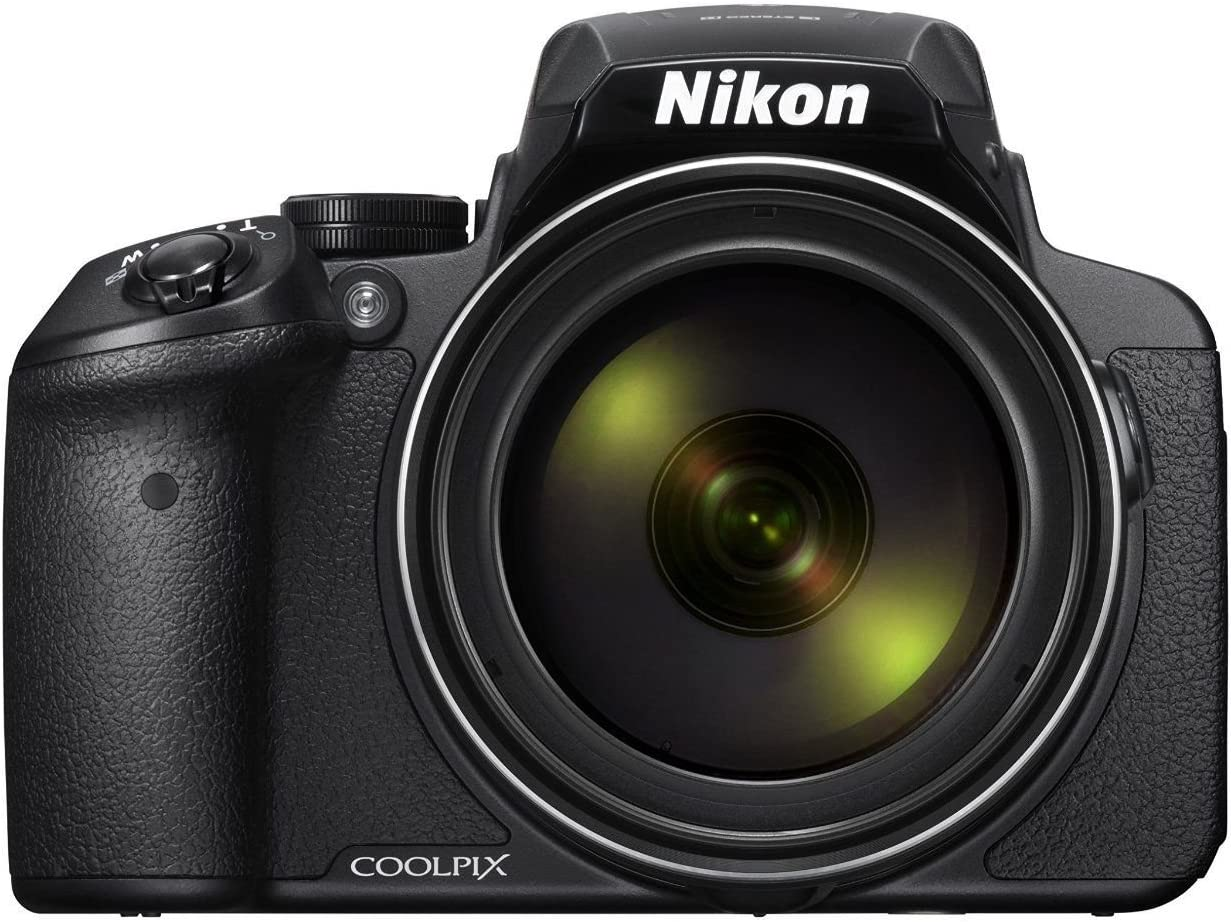 Nikon Coolpix P900 16.0MP Point and Shoot Camera  Black  with 83x Optical Zoom, Card and Camera Case Point   Shoot Digital Cameras