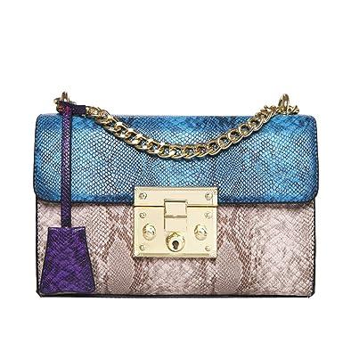 TianWlio Handtasche Damen Mädchen Mode Schlangenleder Muster
