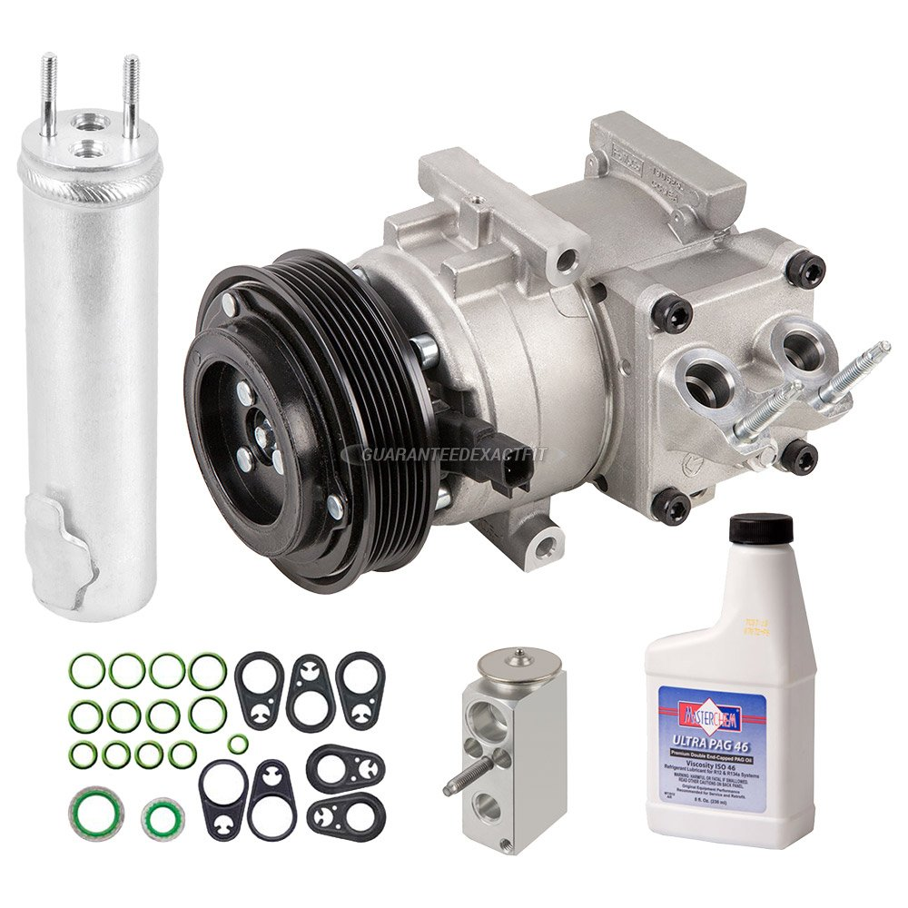 Amazon.com: OEM AC Compressor w/A/C Repair Kit For Ford Fiesta 2011 2012 2013 - BuyAutoParts 60-84262RN New: Automotive