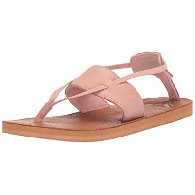 Roxy Women's Shawna Leather Sandal   Sandals