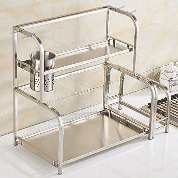 ILQ Material de acero inoxidable Estante de cocina de ...