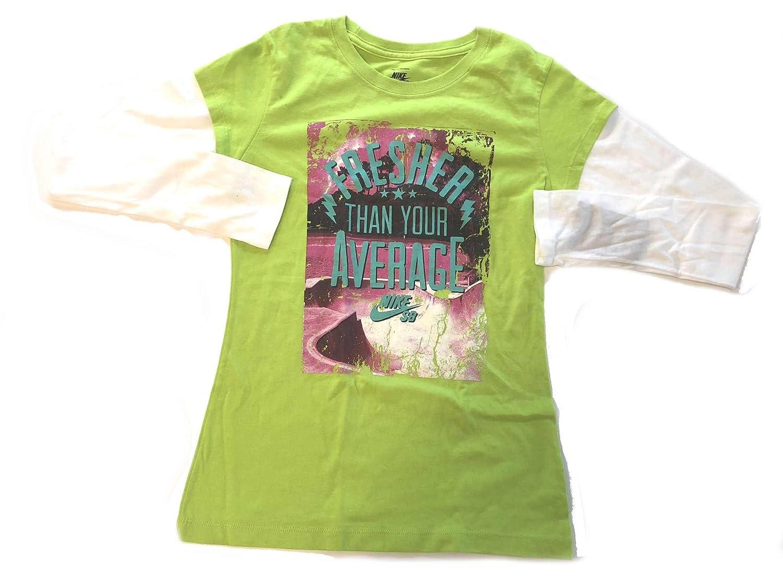 Small Nike Girls Fresher Than Your Average 2fer Shirt