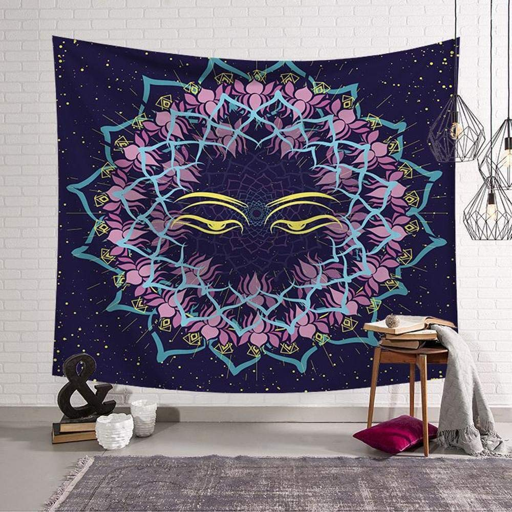 Daeou Tapestry Art Wall Hanging Solar Series Home Hanging Cloth Tapestry Wall Decoration Cloth Dimensions: 1.52m