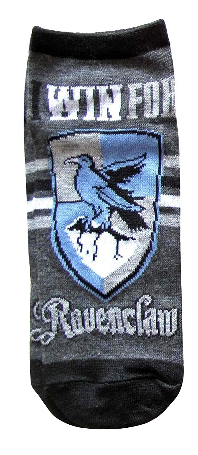 Harry Potter Ravenclaw Quidditch Juniors//Womens 5 Pack Ankle Socks Size 4-10