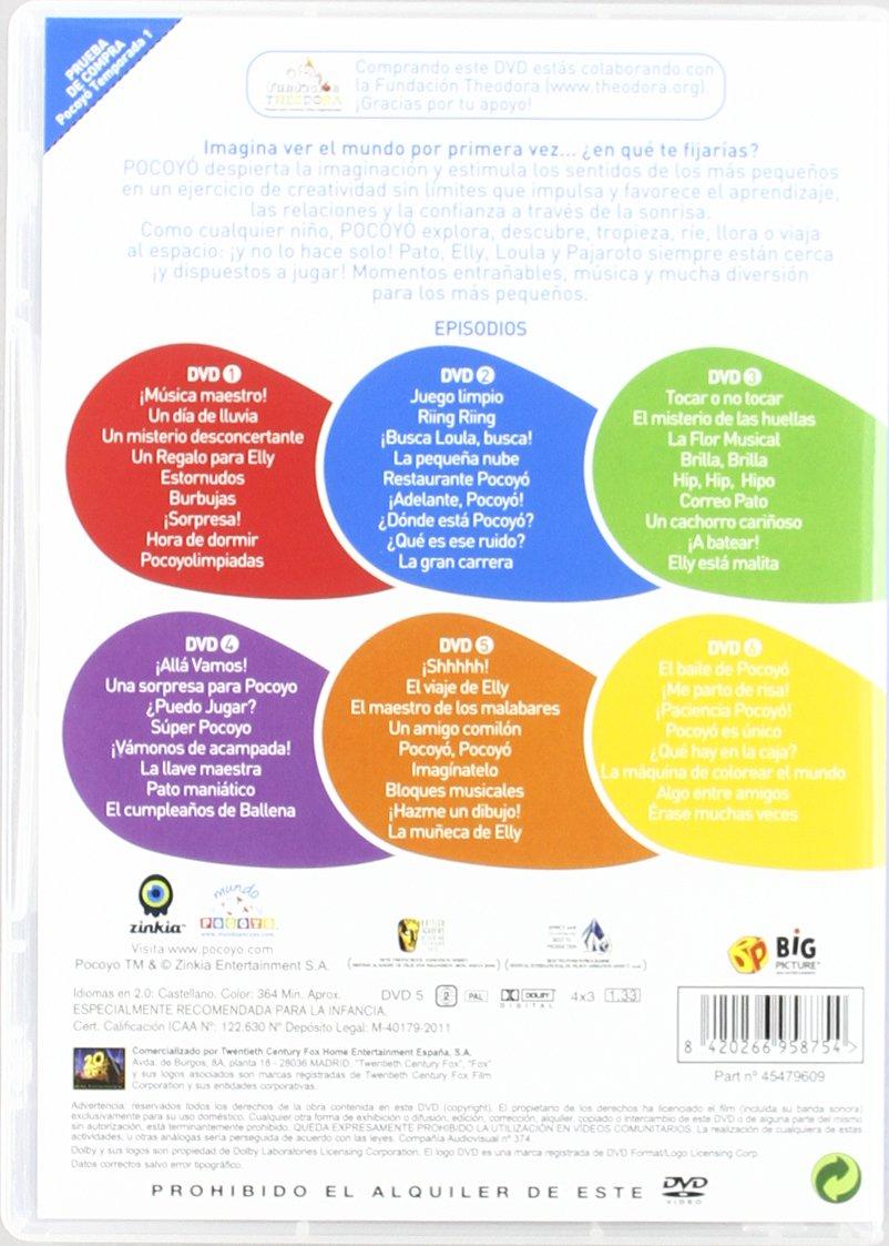 Pocoyo - Temporada 1 [DVD]: Amazon.es: Personajes animados, David Cantolla, Jon Doyle, Anne Brogan, Kath Hart: Cine y Series TV