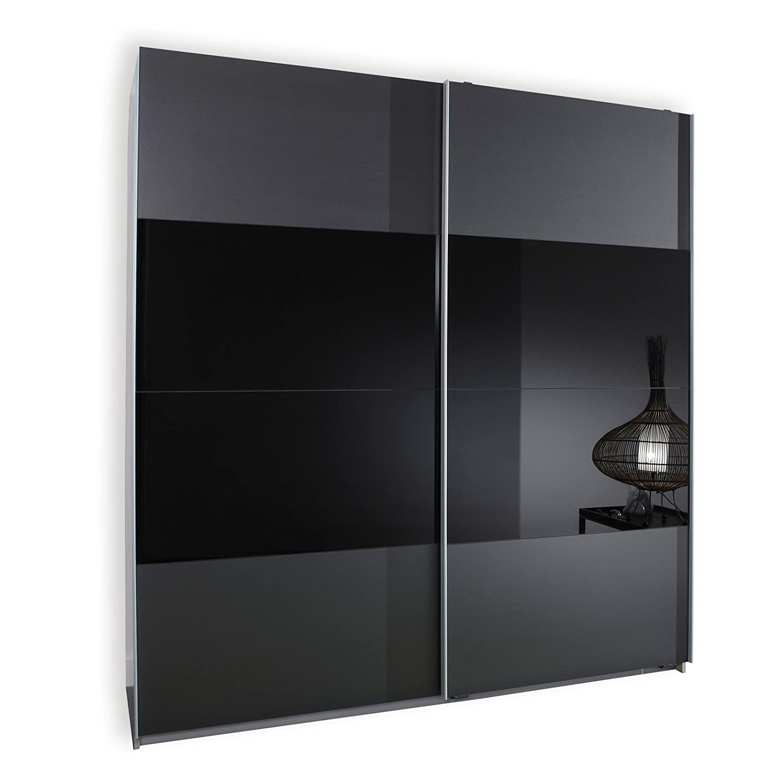 schwebet renschrank grau schwarz. Black Bedroom Furniture Sets. Home Design Ideas
