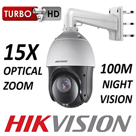 HIKVISION PTZCCTV DOME 2MP 1080P CMOS 15X ZOOM OPTICAL 1920X1080 HD-TVI CVBS BNC 100M